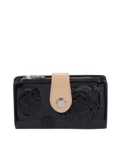 Černá lesklá peněženka Desigual Basic Karlie