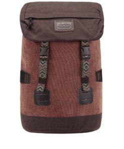 Hnědý unisex manšestrový batoh Burton Tinder 25 l