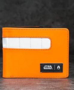 Nixon x Star Wars Showout Leather Wallet Rebel Pilot Orange Univerzální velikost