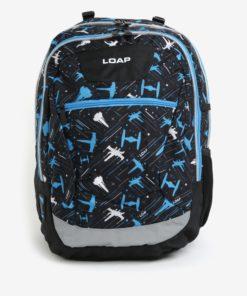 Černo-modrý klučičí vzorovaný batoh LOAP Ellipse 25 l