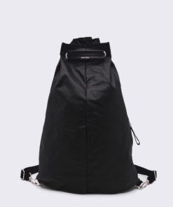 QWSTION Simple Bag Organic Jet Black