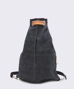 QWSTION Simple Bag Washed Black