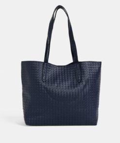Tmavě modrý shopper s odnímatelným pouzdrem Dorothy Perkins