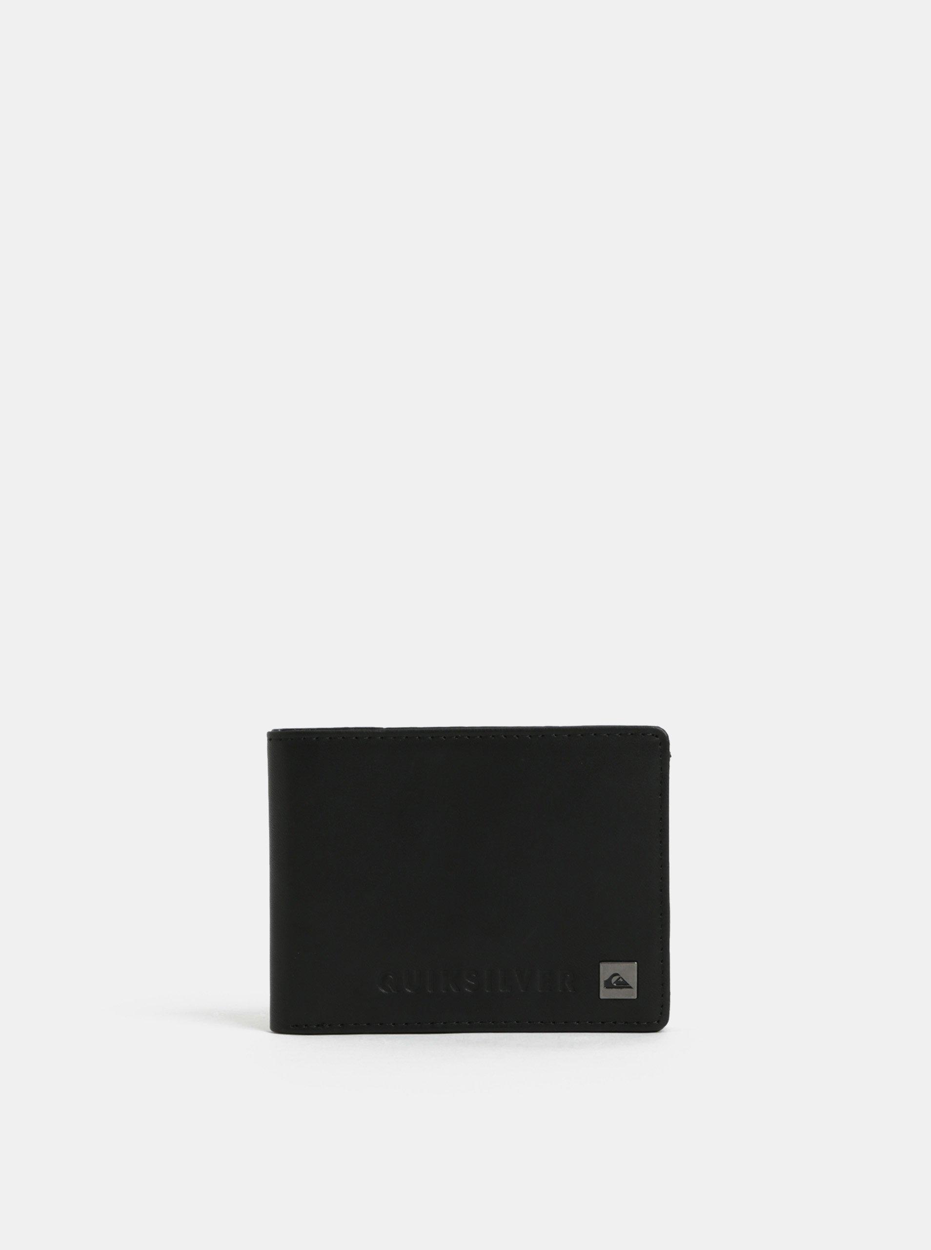 02857a79955 Černá pánská kožená peněženka Quiksilver