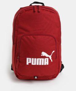 Červený batoh s potiskem Puma 21 l