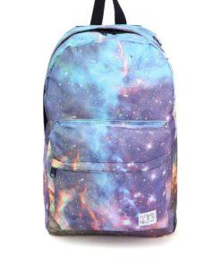 Barevný dámský batoh Spiral Galaxy