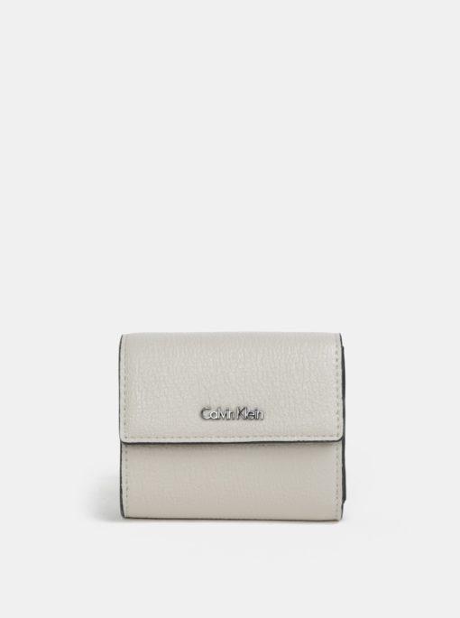 Krémová dámská peněženka Calvin Klein Jeans
