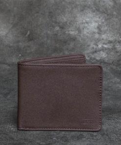 Vans Drop V Bifold Wallet Dark Brown Univerzální velikost