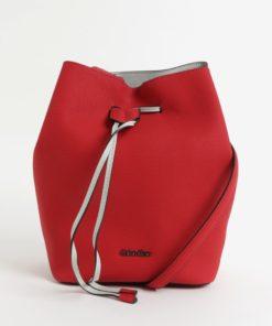 Červená vaková velká kabelka Calvin Klein Jeans