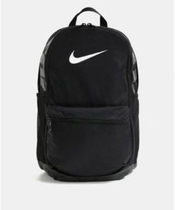 Černý batoh s potiskem Nike 24 l