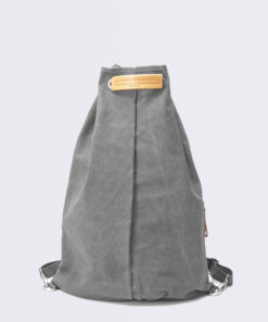 QWSTION Simple Bag Washed Grey