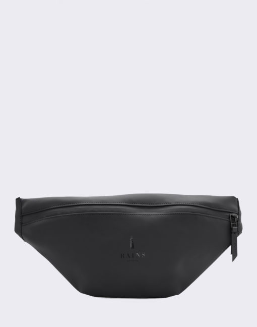 Rains Bum Bag 01 Black