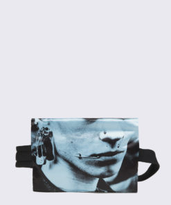 Eastpak Raf Simons Poster Waistbag Black Cotton Boy