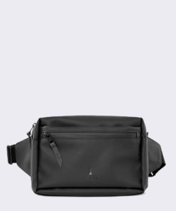 Rains Waist Bag 01 Black