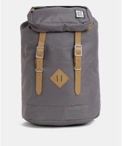 Šedý voděodpudivý batoh The Pack Society 23 l