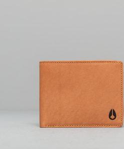 Nixon Cape Leather Wallet Saddle Univerzální velikost