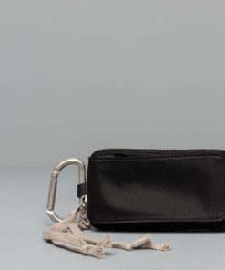 Rick Owens DRKSHDW Clip-On Wallet Black Univerzální velikost