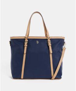 Tmavě modrá kabelka U.S. Polo Assn.