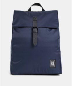 Tmavě modrý voděodpudivý batoh The Pack Society 15 l