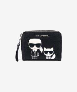 K/Ikonik Small Peněženka Karl Lagerfeld | Černá | Dámské | UNI